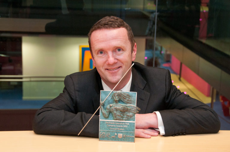 2012 Tenth Docklands Innovation Park Award for Best Investment Proposal (Cathal Brady)