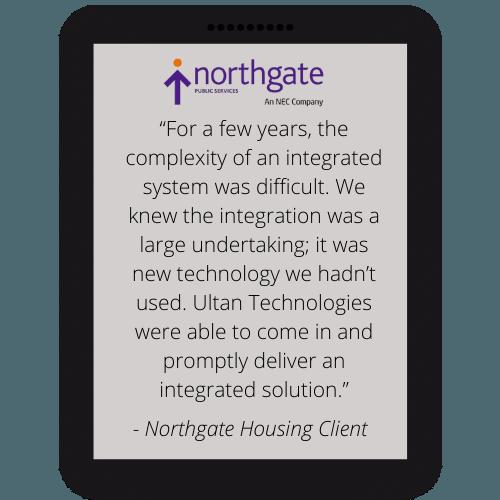 Local Authorities idea - Northgate Housing Client